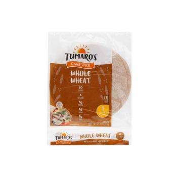 Tumaros Whole Wheat Low Carb Wrap 1.2 Oz