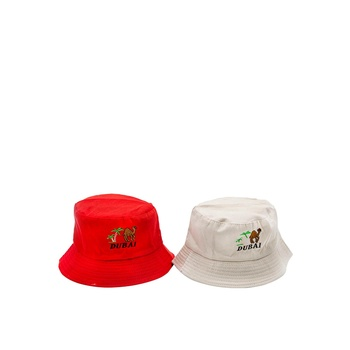 Dubai unisex cotton bucket cap