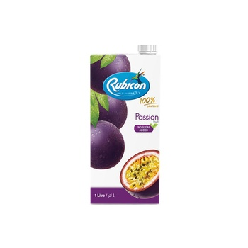 Rubicon Passion Juice Drink No Sugar Added 1ltr