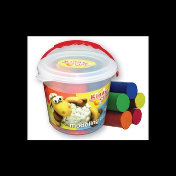 Kiddy Clay Modelling Clay Set- 8 Colors Bucket