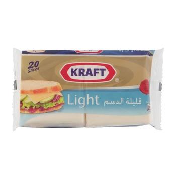 Kraft Single Slices Light 360g