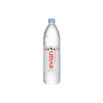 Evian Prestige Natural Mineral Water 1.25ltr
