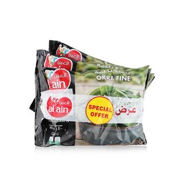 Al Ain Okra Fine 3 x 400g