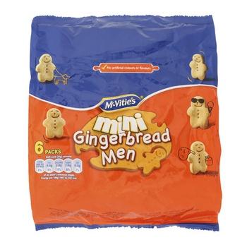 Mini Gingerbread Men 6s x 25g