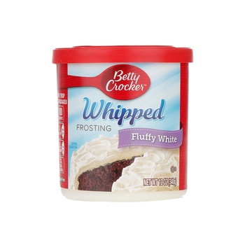 Betty Crocker Frosting Whipped Fluffy White 12oz