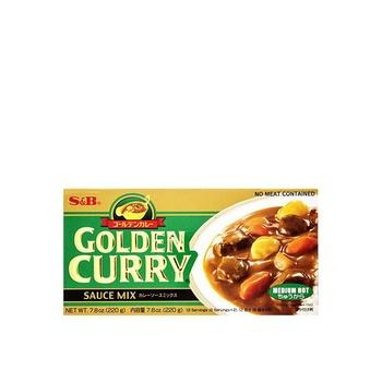 Golden Curry Sauce Medium Hot 220g