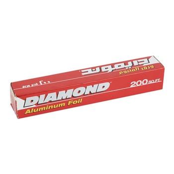 Diamond Aluminium Foil 30.4 X 60.09cm 200 Sq. Ft.
