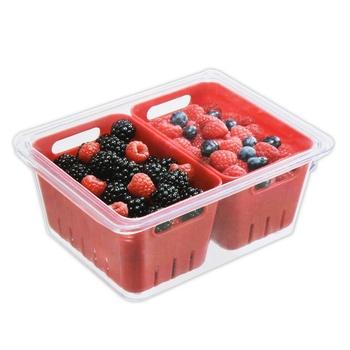 Freezer Bin with 2 Mini Basket