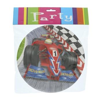Grand Prix Paper Plate- 6pcs pack