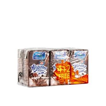 Almarai UHT Milk Nijoom Chocolate 150ml 4+2