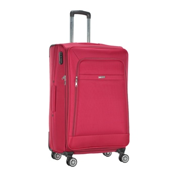 Voyager Trolley Bag  Red - 28 inch