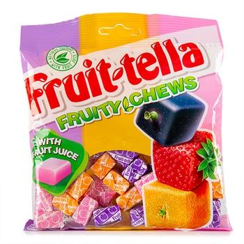 Fruit Tella Fruit Assorted Bag 140g