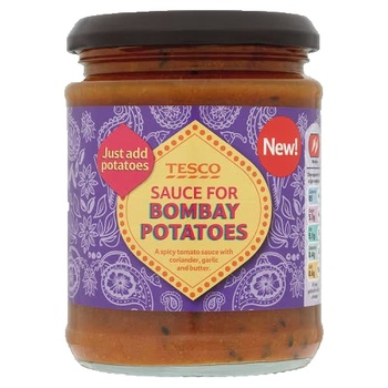 Tesco Sauce For Bombay Potatoes 300g