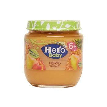 Hero Baby 2 Fruits 130gm