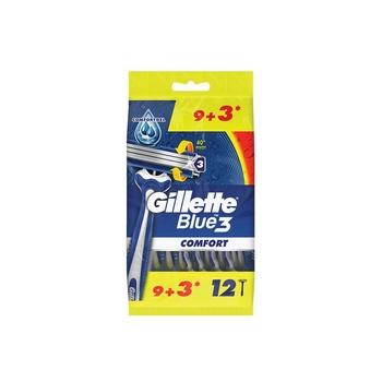 Gillette Blue3 Comfort Disposable Razors 9+3 Count