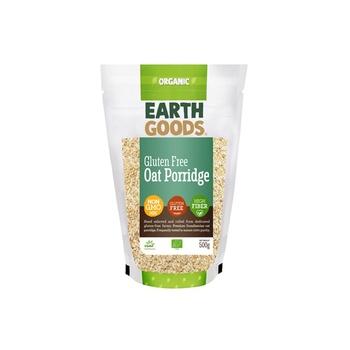 Earth Goods Org Oat Porridge Gluten-Fre 500g